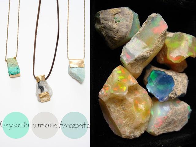bijoux pierres minéraux