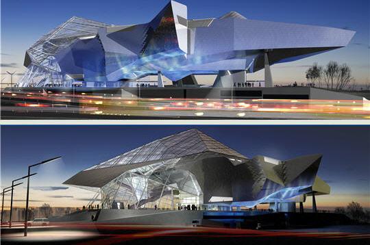 Arquirehab arquitectura del siglo xxi v musee des - Arquitectura lyon ...