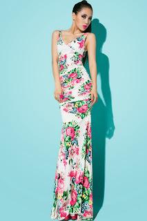 floral dress 2013