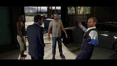 Grand Theft Auto V (Game) - Official PlayStation 4 & Xbox One Launch Trailer - Song / Music