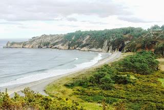 playa de Barayo, vista general