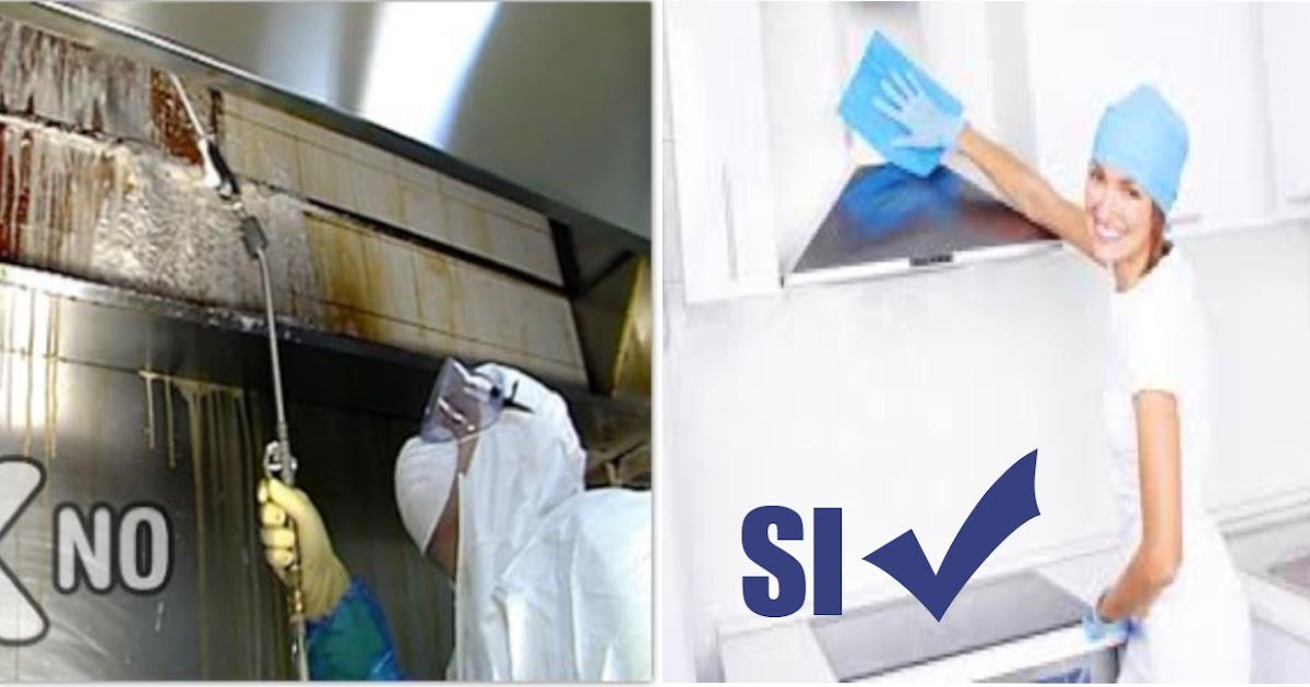 Cmd soluciones sustentables limpieza c mo limpiar las campanas de la cocina - Como limpiar la campana de la cocina ...