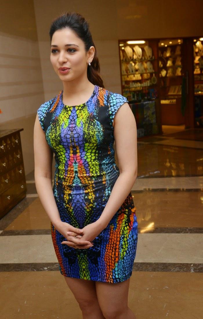 Tamanna short dress images