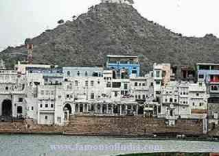 all pushkar image with lake