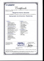 Certificado Manipulacin Alimentos (especilidad pastelera)