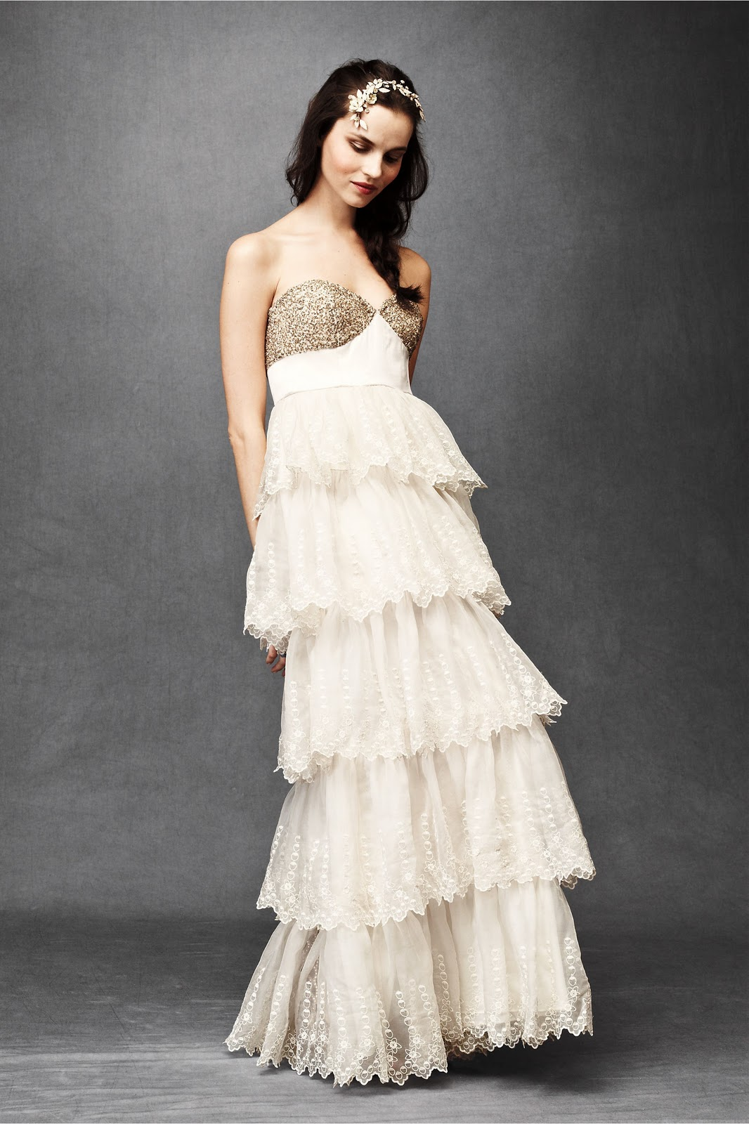Beholden anthropologie meets wedding calmly chaotic for Anthropologie beholden wedding dress