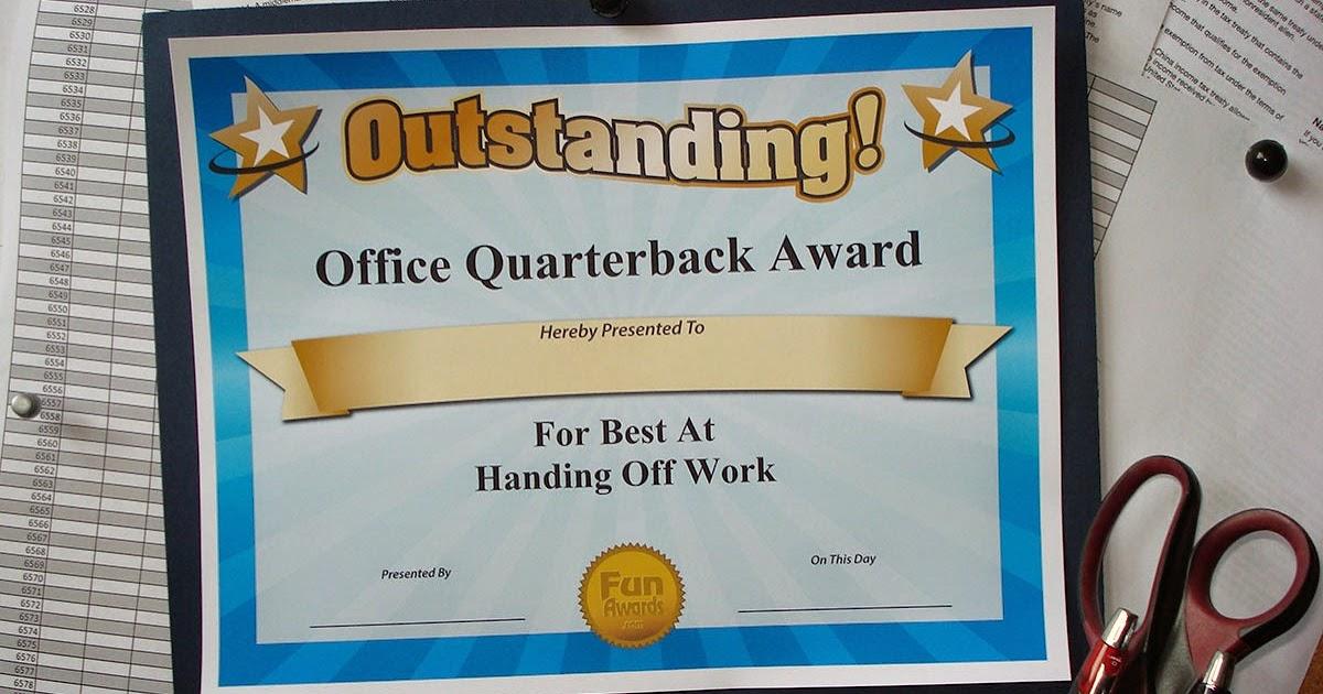 Funny Office Superlatives - Funny Award Ideas