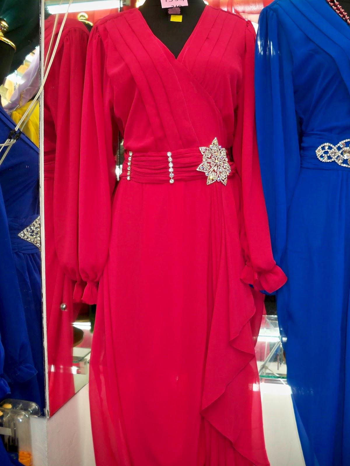 merk agustine jenis baju gaun gamis hiasan sworovski jenis bahan sifon