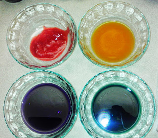 Natural food dyes/food colorings