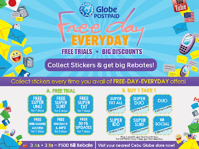 Free Day Everyday with Globe