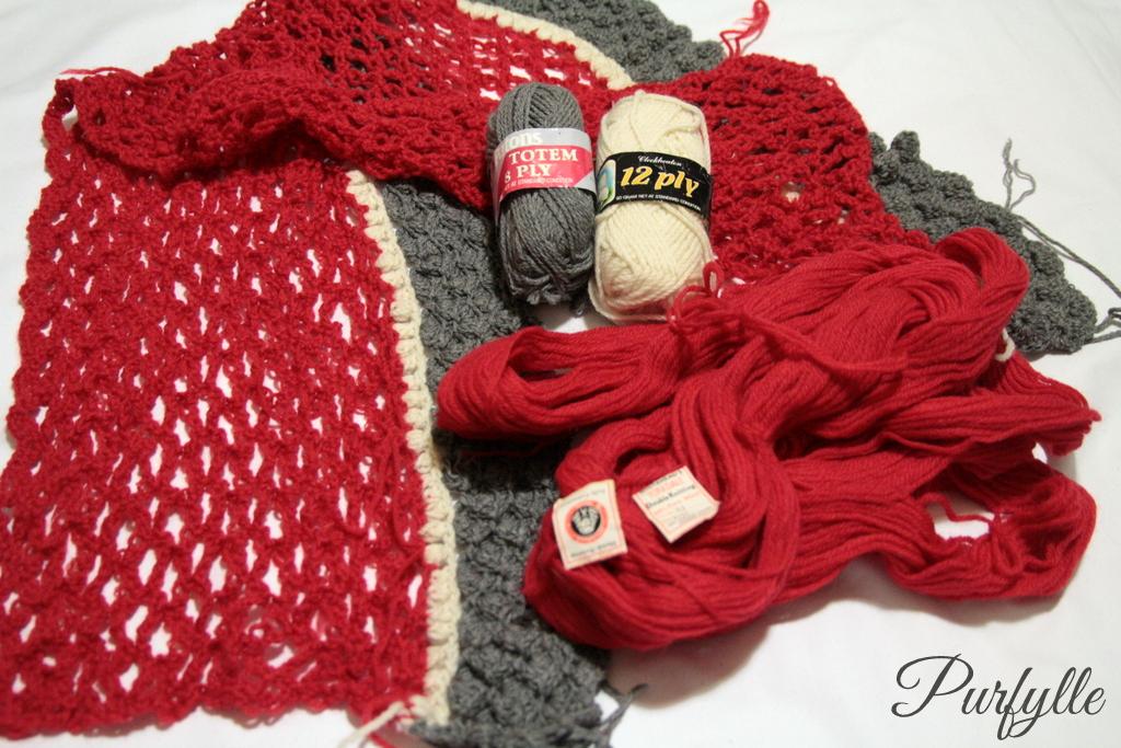 crochet blanket UFO