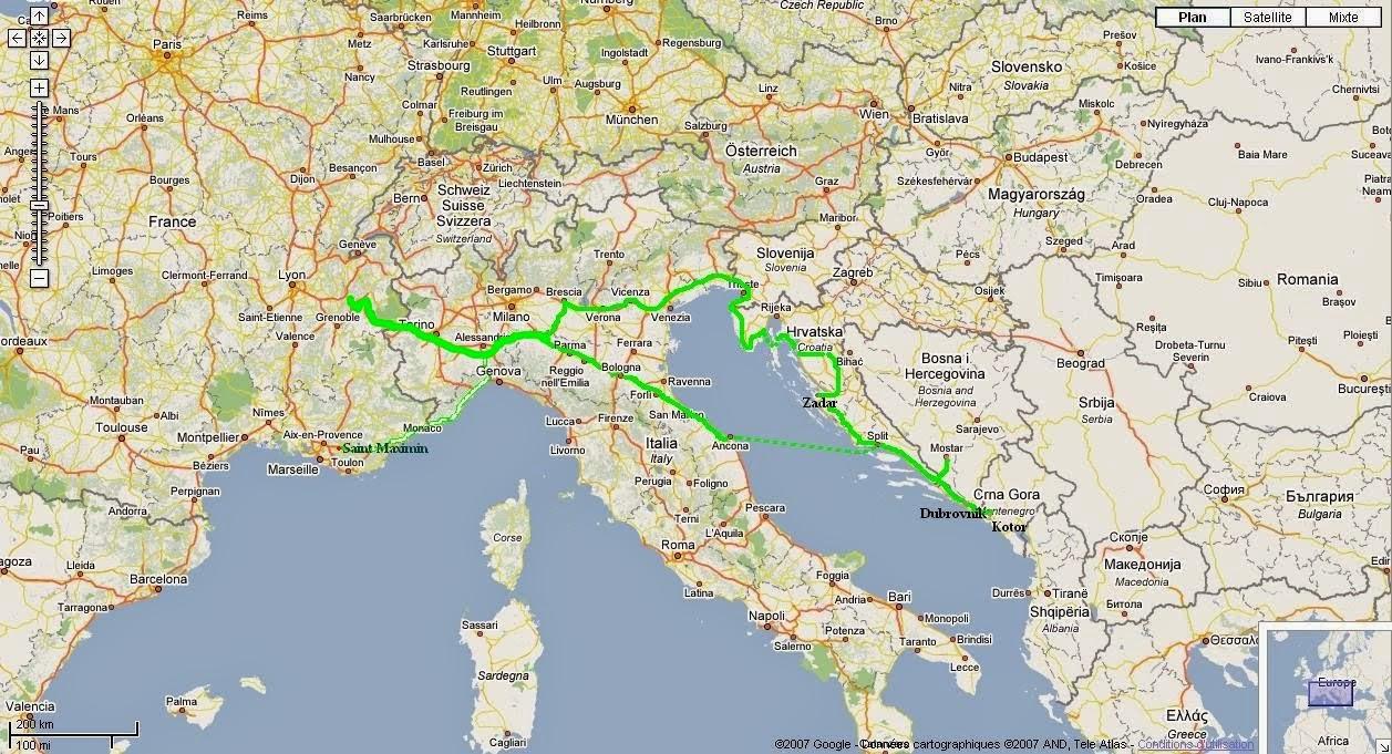 Notre voyage en Croatie: VISITE DE KOTOR   MONTENEGRO