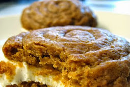 Pumpkin Whoopie Pies with Creamy Cream Cheese Filling