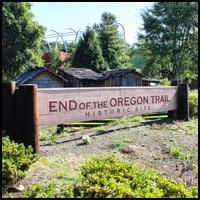 End of the Oregon Trail