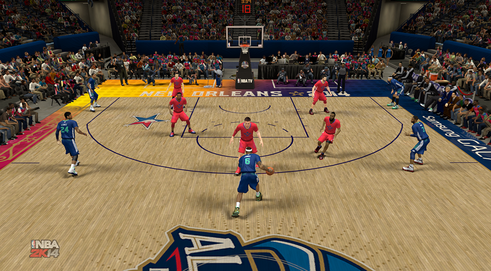 NBA 2K14 Play The All-Star Game 2014