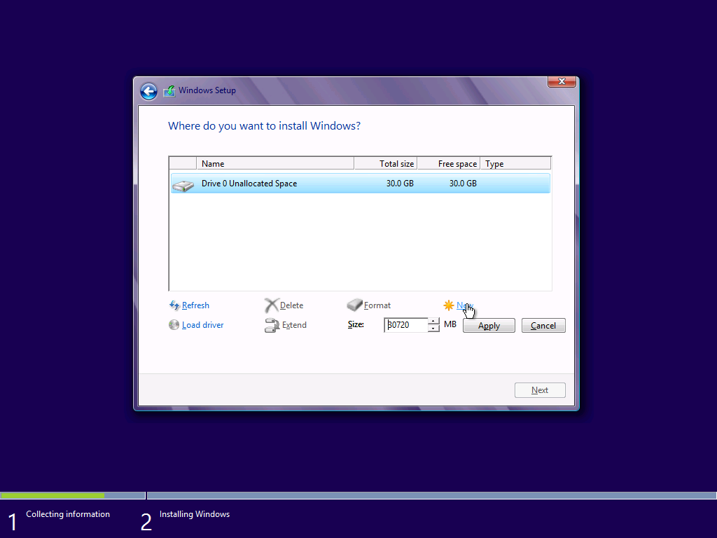 8.+New Cara Memasang Windows 8