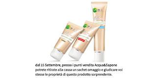 campione gratis di Garnier BB Cream