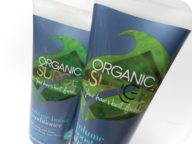 A picture of Organic Surge Volume Boost Shampoo and Conditioner