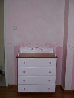 διακόσμηση παιδικού δωματίου, ζωγραφική