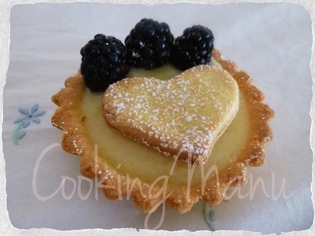 tart alla more (blackberry tart)