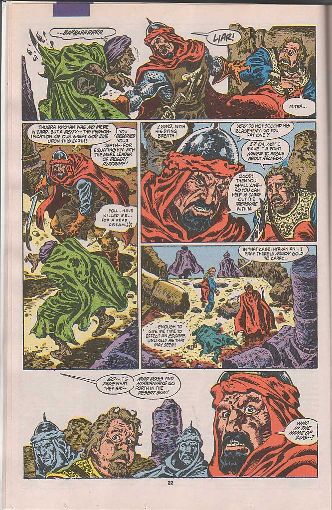 Conan the Barbarian (1970) Issue #250 #262 - English 17