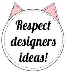 Respect designers ideas!