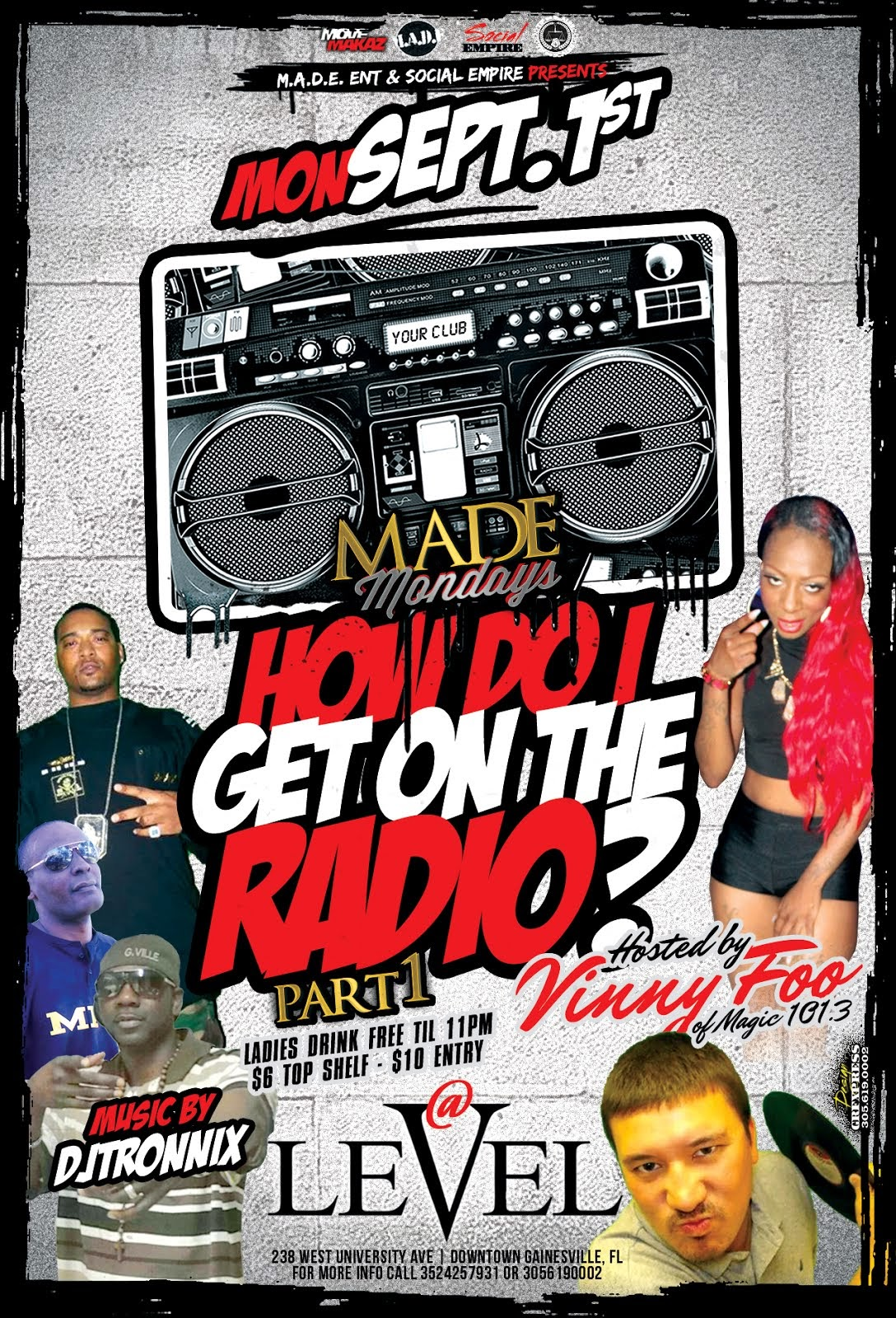 """MADE MONDAYS presents """"HOW DO I GET ON THE RADIO"""" PART 1"""