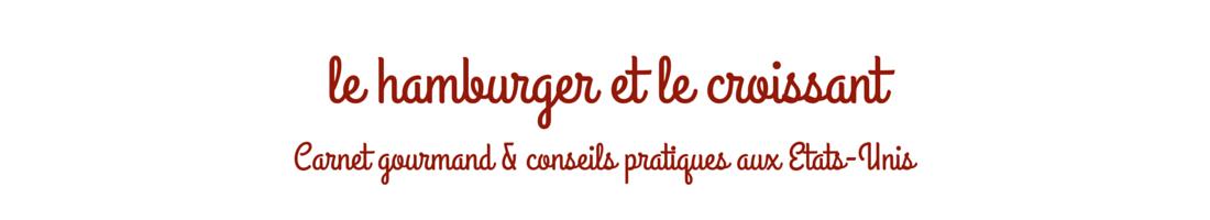 le hamburger et le croissant