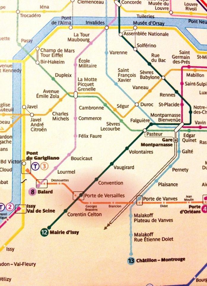 Pz c paris metro - Porte de versailles metro ...