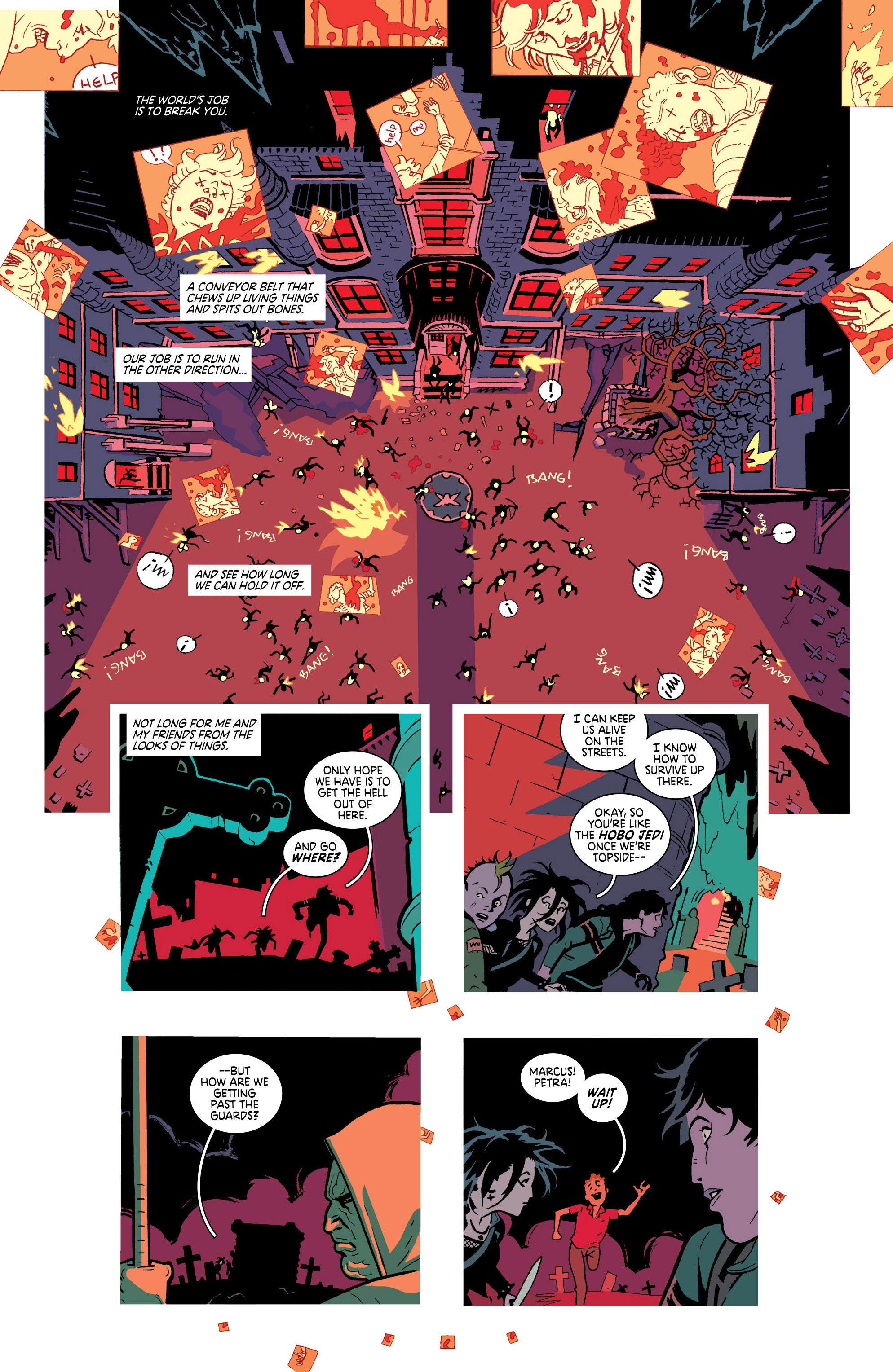 Read online Deadly Class comic -  Issue #18 - 3