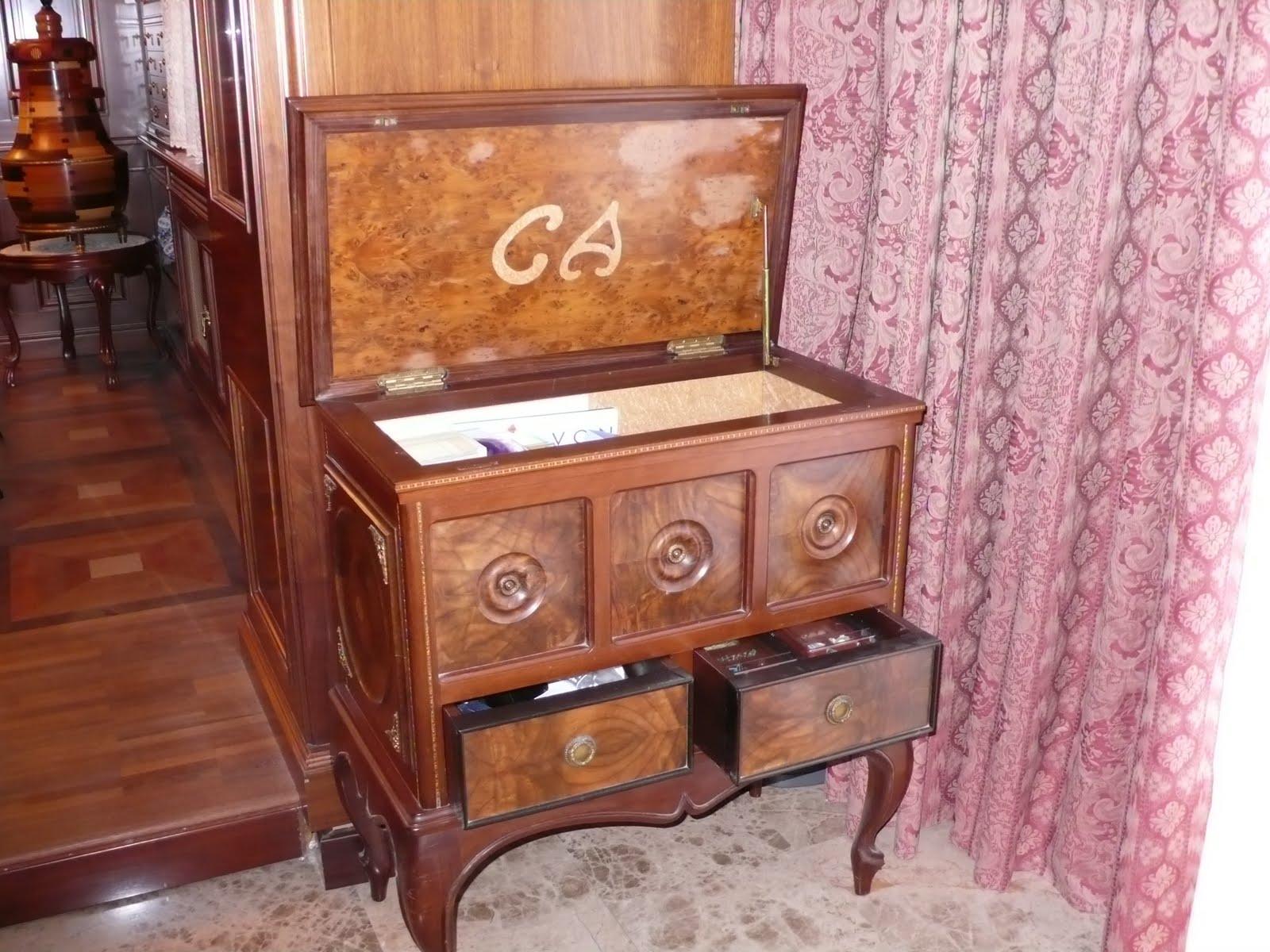 Maderas nobles mueble costurero for Mueble costurero