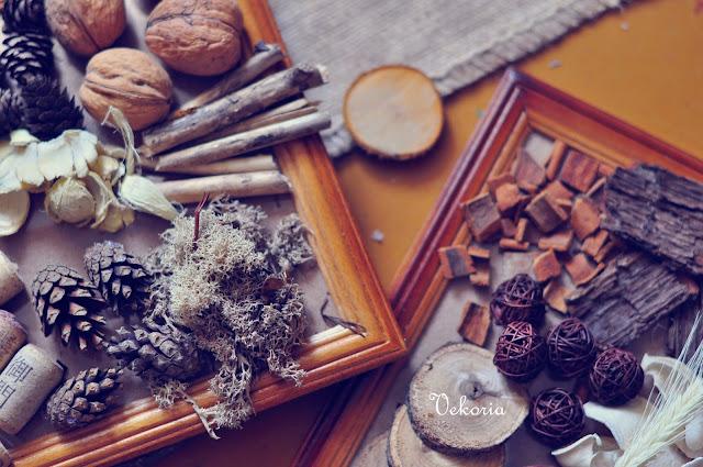 натуральные материалы панно