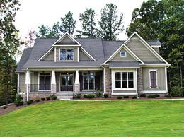 craftsman style home exterior on 2 story craftsman style house floor plans