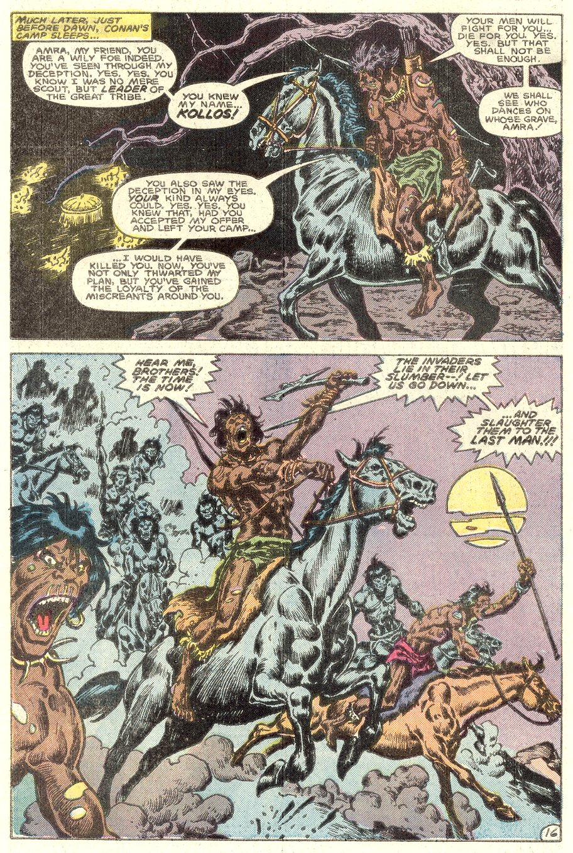 Conan the Barbarian (1970) Issue #182 #194 - English 17