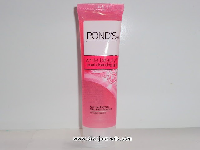 Pond's White Beauty Pearl Cleansing Gel Review