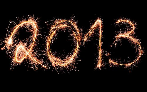 Bonne année 2013 - Happy new year 2k13