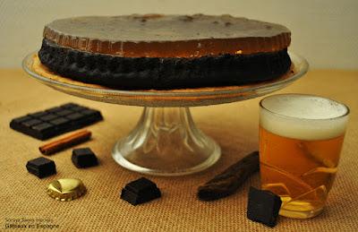 test cuisine gateau chocolat gelee biere