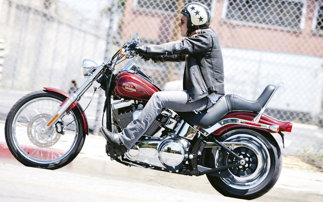 Harley Davidson Bikes: 2009 Harley Davidson FXSTC Softail Custom