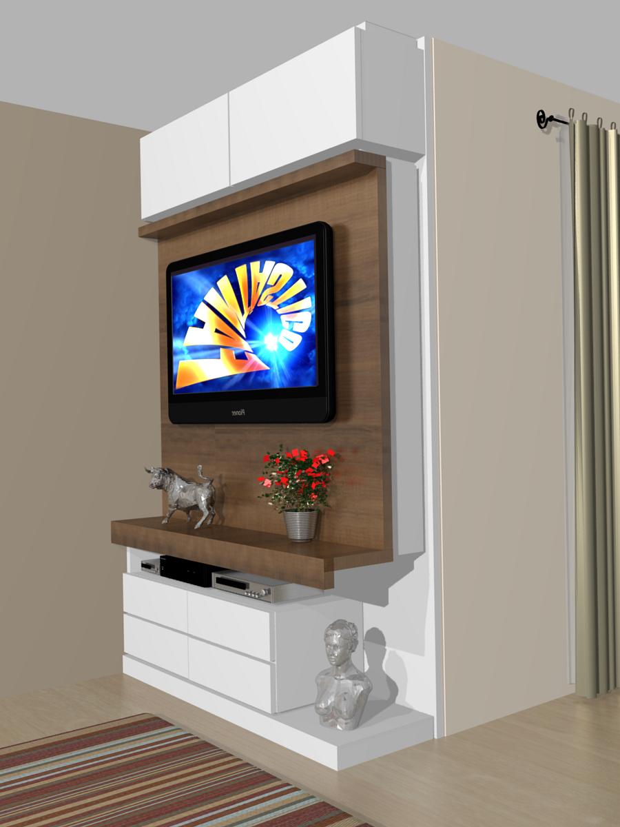 Ideias De Painel Para Tv No Quarto ~ painel de tv pequeno para quarto Car Tuning