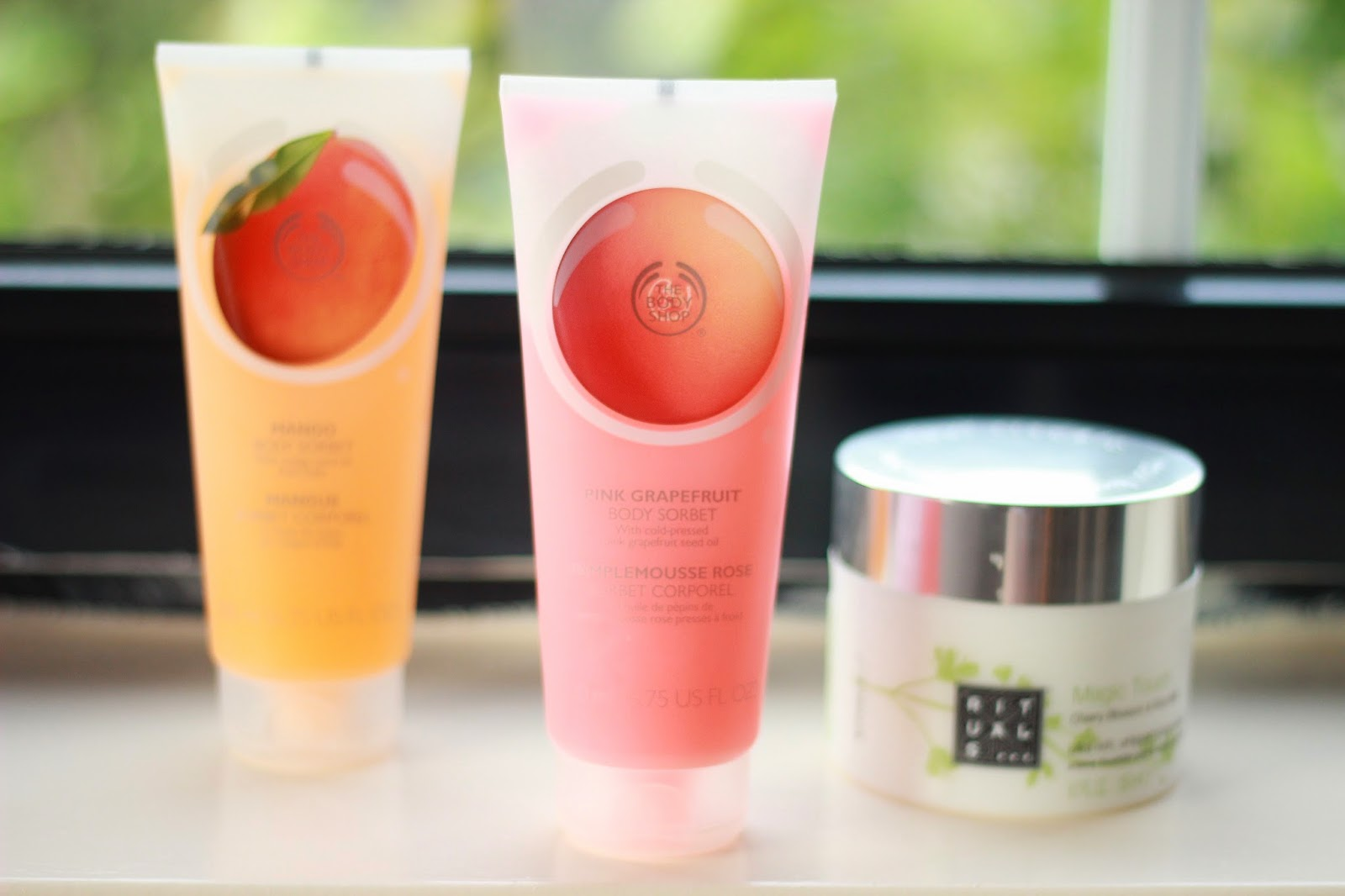 onder de douche, favoriete douche bad beauty producten