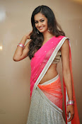 Shubra Aiyappa glamorous in half saree-thumbnail-6