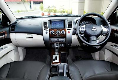 Interior Mitsubishi Pajero Sport Gen1