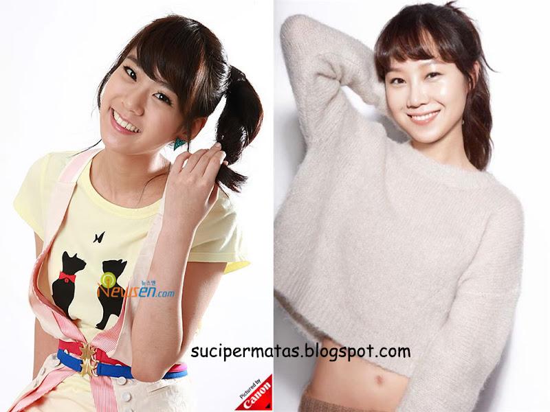 Bagaiamana menurut kalian apakah Seungyeon mirip dengan Gong Hyo Jin  title=