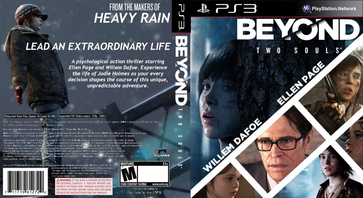 Capa Beyond Two Souls PS3