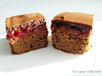 Brownie sublime aux framboises