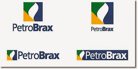 Propostas de reformulação do nome Petrobrás e as novas marcas sugeridas.