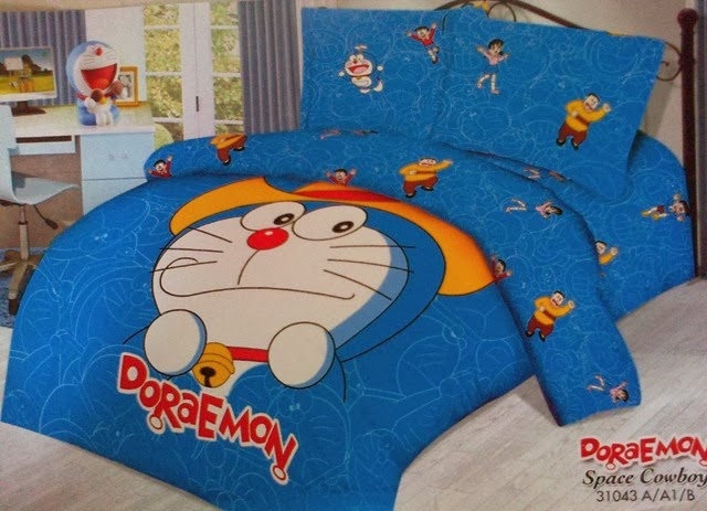 Sprei Panel Doraemon Space Cowboy