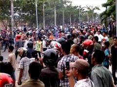 Kerusuhan Lampung Oktober 2012