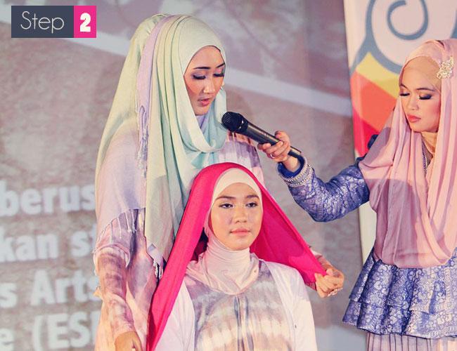 Video & Gambar Tutorial Cara Memakai Jilbab Modern « Terbaru 2014 ...