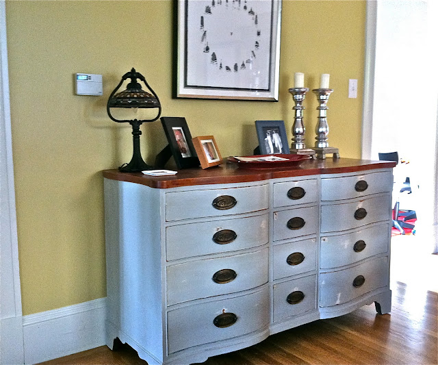 Dresser Turned Buffet